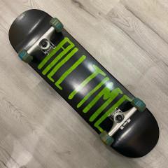 "Скейтборд ALL TIME - 2 Tone Green 8.25"""